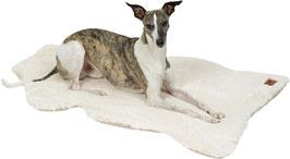 HYGGELAMB veganes Lammfell | Schaffell für Hunde ivory