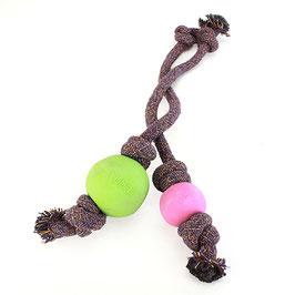Beco Ball mit Seil und Vanille Duft