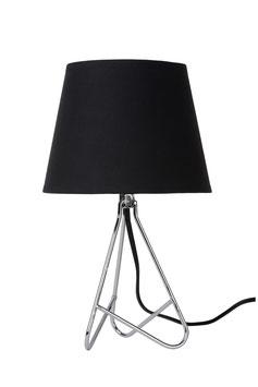 GITTA - Tischlampe - Ø 17 cm - E14 - Chrom Art.47500/81/11