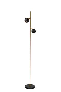 BINARI - Stehlampe - Ø 20 cm - LED - 2x5W 2700K - Schwarz