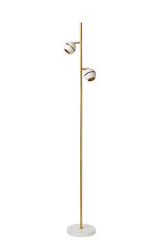 BINARI - Stehlampe - Ø 20 cm - LED - 2x5W 2700K - Weiss