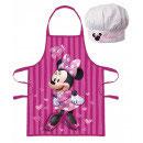 Kochschürze mit Mütze Minnie Mouse 3