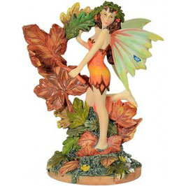 Autumn Leaf Fairy by Linda Ravenscroft