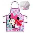Kochschürze mit Mütze Minnie Mouse 1