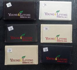 Terminkalender 17 cm x 10 cm  2020 mit Lederbezug  und                      Young Living Stick