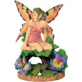 Viola Pansy Fairy by Linda Ravenscroft
