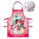 Kochschürze mit Mütze Minnie Mouse 4