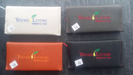 Terminkalender 20 cm x 10 cm  2020 mit Lederbezug  und                      Young Living Stick