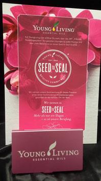 Visitenkarten Box Rosa