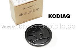 SKODA Emblem Logo BLACK (vorne) - original - SKODA KODIAQ
