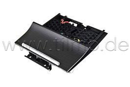 Carbon Mittelkonsole Ablagefach Sportline - original - SKODA SUPERB III (3V)