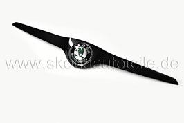 Leiste (oben) inkl. Emblem (grün) BLACK Metallic - original - SKODA FABIA II Monte Carlo