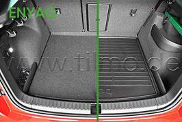 Doppelseitige Matte für Kofferraum - original - SKODA ENYAQ (5A)