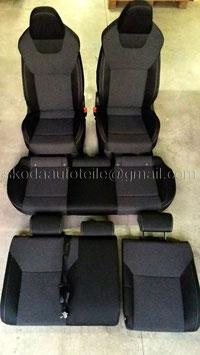 Sport-Sitze Ausstattung SPORT (vorne mit Sitzheizung) - original - SKODA RAPID