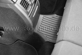 Gummifußmatte für Tunnel - original - SKODA YETI (5L)