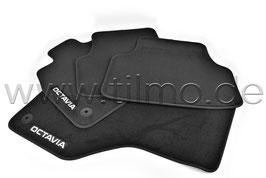 SET Fußmatten PREMIUM (vorne+hinten) - original - SKODA OCTAVIA IV (NX)