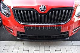 Kühlergrillleiste BLACK Metallic - original - SKODA YETI Facelift Monte Carlo