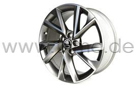 "4x Leichtmetallfelge VEGA Platinum 18"" - original - SKODA OCTAVIA III Facelift (5E)"
