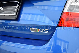 """Schriftzug Emblem Heckklappe """"VRS"""" RS STANDARD - original"""