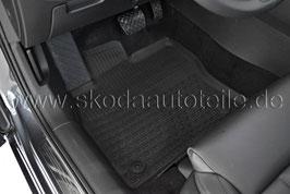 SET Gummifußmatten (vorne) - original - SKODA SUPERB III (3V)