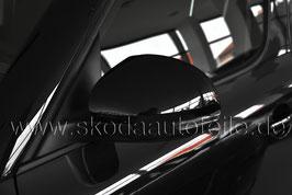 Dekor Spiegelabdeckung Blende BLACK - original - SKODA YETI, VW TIGUAN