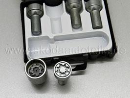 Radsicherung Felgenschloss - original - SKODA VW AUDI SEAT