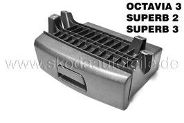 Ablagefach unter Fahrersitz - original - SKODA OCTAVIA III, SUPERB II, SUPERB III