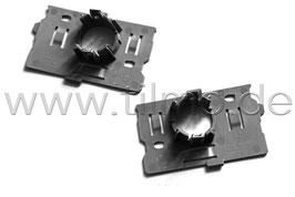2x PDC Sensor Halter für Stoßstange Blende (L+R) - original - SKODA KODIAQ