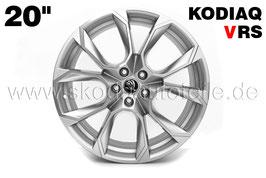 "4x Leichtmetallfelge XTREM 20"" Silber - original - SKODA KODIAQ RS"