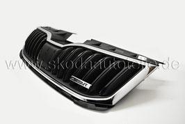 SCOUT Kühlergrill mit Leiste Chrom - original - SKODA OCTAVIA III Facelift (5E)