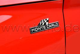 "2x Schriftzug Emblem Kotflügel (L+R) ""Monte Carlo"" - original - SKODA"