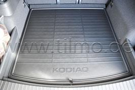 Doppelseitige Matte für Kofferraum - original - SKODA KODIAQ