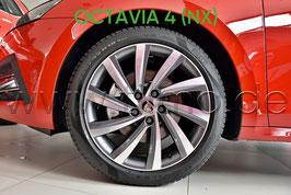 "4x Leichtmetallfelge PERSEUS Anthrazit 18"" - original - SKODA OCTAVIA IV (NX)"