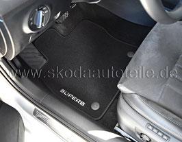 SET Fußmatten Prestige - 3V1061404 - original - SKODA SUPERB III (3V)