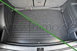 Doppelseitige Matte für Kofferraum - original - SKODA RAPID SB
