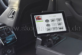 NEU SKODA Tablet-Halter SET - original