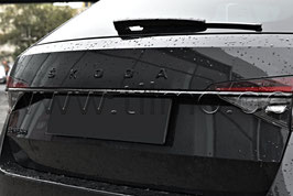 SET BLACK Schriftzug Emblem (V+H) - original - SKODA SUPERB III FL (3V)