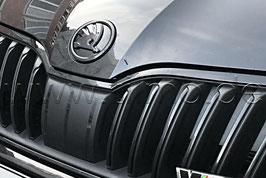SKODA Emblem Logo BLACK (V o. H) - original - OCTAVIA III