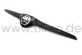 Leiste (oben) inkl. Emblem BLACK Metallic - original - SKODA FABIA II Monte Carlo