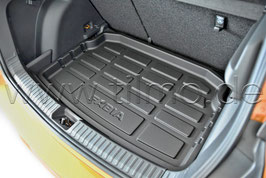 Kunststoffwanne für Kofferraum - original - SKODA FABIA IV (PJ)