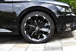 "4x Leichtmetallfelge SUPERNOVA black 19"" - original - SKODA SUPERB III (3V)"