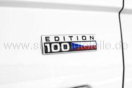 """Schriftzug Emblem """"100 Edition"""" - original"""