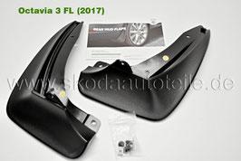 Schmutzfänger-Satz (hinten) - original - SKODA OCTAVIA III Facelift (5E)