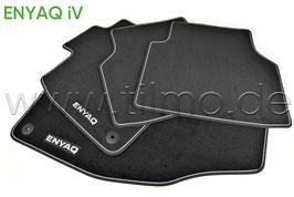 SET Fußmatten PREMIUM Colour paket (vorne+hinten) - original - SKODA ENYAQ (5A)
