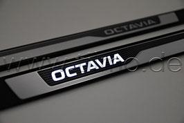 "LED Einstiegsleisten ""OCTAVIA"" - original - SKODA OCTAVIA IV (NX)"