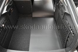 Gummi/Textil Wendematte für Kofferraum - original - SKODA OCTAVIA III (5E) Combi
