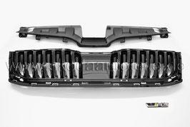 RS 245 Kühlergrill SET glänzend ohne Leiste - original - SKODA OCTAVIA III Facelift (5E)