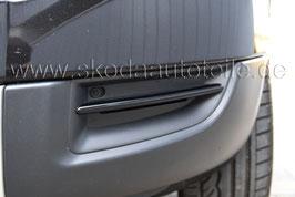 Dekorleisten für Stoßstange BLACK - original - SKODA YETI Vorfacelift