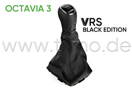 VRS BLACK EDITION Schaltknauf 6-GANG - original - SKODA OCTAVIA III (5E)