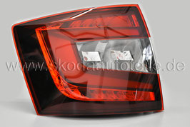 LED Rückleuchte KIRSCHROT (links) - original - SKODA OCTAVIA III Facelift (5E) Combi